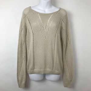 Anthropologie Pins And Needles Pullover Sweater L